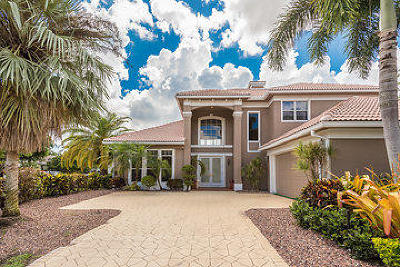 Palm Beach Gardens Single Family Home For Sale: 125 Pembroke Dr