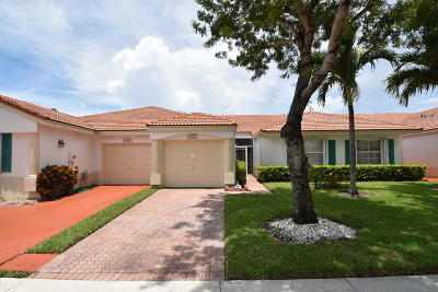 Delray Beach Single Family Home For Sale: 6079 Caladium Road