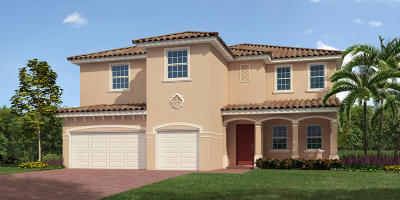 Port Saint Lucie Single Family Home For Sale: 11978 SW Aventino Drive
