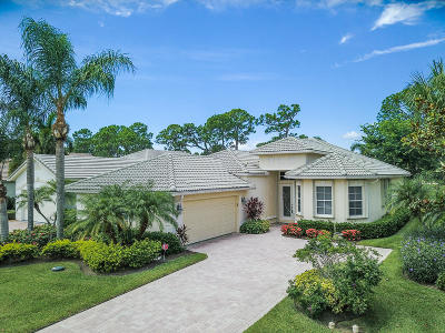 Port Saint Lucie Single Family Home Contingent: 8809 First Tee Road