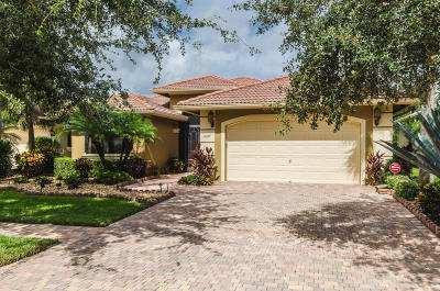 Boynton Beach Single Family Home For Sale: 11027 Via Lucca