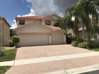 Greenacres Single Family Home Contingent: 5034 Solar Point Drive