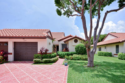 Delray Beach Single Family Home For Sale: 6124 Waldwick Circle