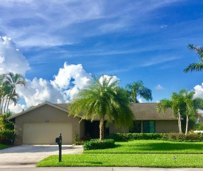 Boca Raton Single Family Home For Sale: 9638 Lancaster Place