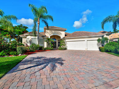 Boynton Beach Single Family Home For Sale: 8241 Muirhead Circle