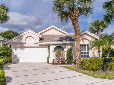 Jupiter Single Family Home For Sale: 16481 Riverwind Drive