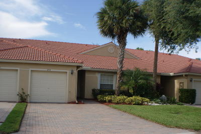 Boynton Beach Single Family Home For Sale: 5153 Toscana Trail #5153