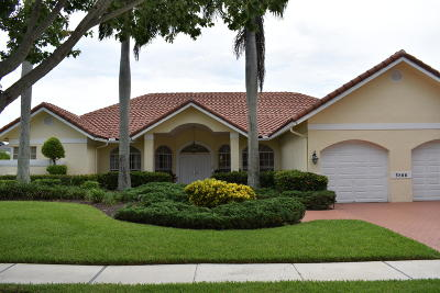 Boca Raton Single Family Home For Sale: 5866 Harrington Way