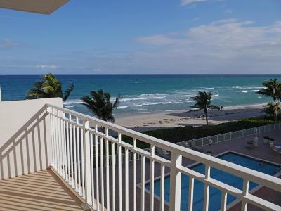 Broward County, Palm Beach County Rental For Rent: 3215 S Ocean Boulevard #309