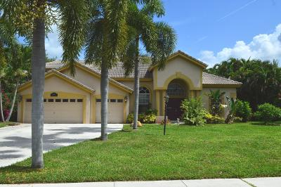 Broward County, Palm Beach County Single Family Home For Sale: 4413 Hunting Trail