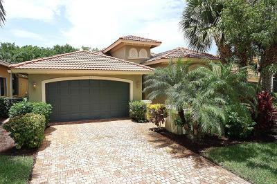 Boynton Beach Single Family Home For Sale: 7110 Boscanni Drive