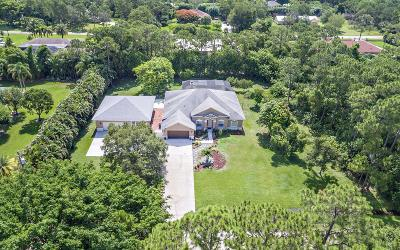 Palm Beach Gardens Single Family Home For Sale: 15656 76th Trail