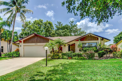 Delray Beach Single Family Home For Sale: 5604 Boca Delray Boulevard