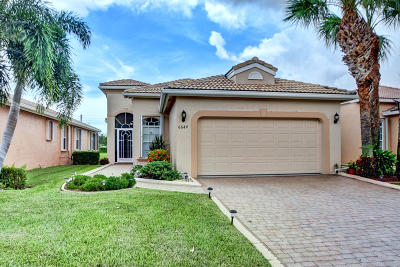 Delray Beach Single Family Home Contingent: 6644 Via Roma