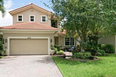 Palm Beach Gardens Single Family Home For Sale: 4938 Pacifico Court