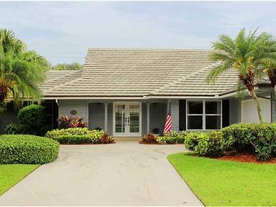 Palm Beach Gardens Single Family Home For Sale: 150 Thornton Drive