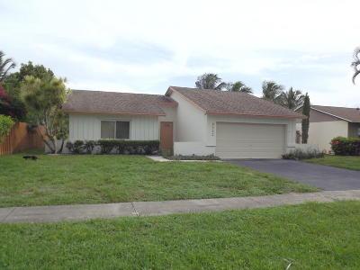 Boca Raton Single Family Home For Sale: 9422 Saddlebrook Drive