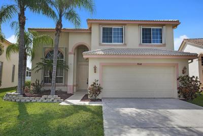 Boynton Beach Single Family Home For Sale: 7812 Colony Lake Drive