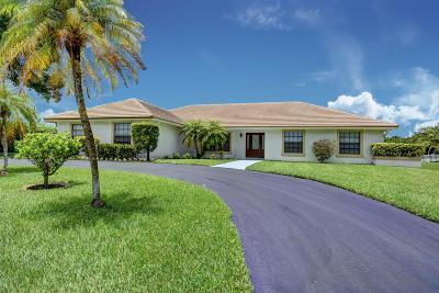 Boca Raton Single Family Home Contingent: 11917 Sandlake Drive