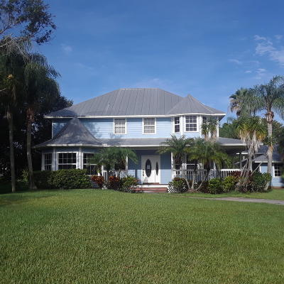Palm City Single Family Home Contingent: 5438 SW Coral Tree Lane