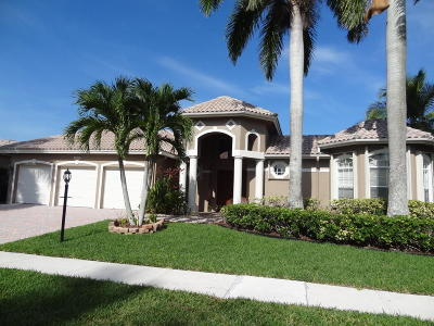 Boca Raton Single Family Home For Sale: 21827 Marigot Drive