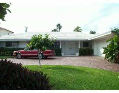 Boca Raton Single Family Home For Sale: 2101 Cocoanut Road