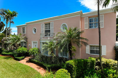Palm Beach Single Family Home For Sale: 240 Queens Lane