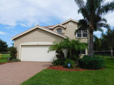 Boynton Beach Single Family Home For Sale: 7832 Red Mahogany Road