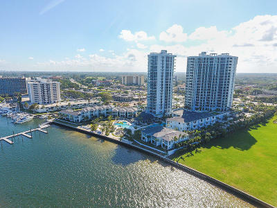 North Palm Beach Condo For Sale: 1 Water Club Way #1803 N