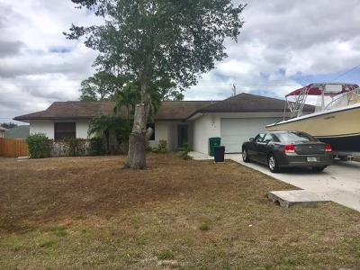 Port Saint Lucie Single Family Home For Sale: 184 SW Klee Circle