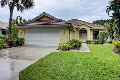 Jupiter Single Family Home For Sale: 193 Hampton Circle
