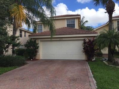 Greenacres Single Family Home Contingent: 5073 Starblaze Drive
