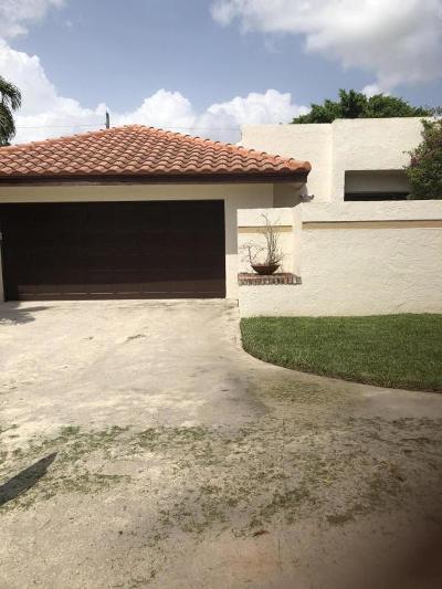 Boca Raton Single Family Home For Sale: 21314 Placida Terrace