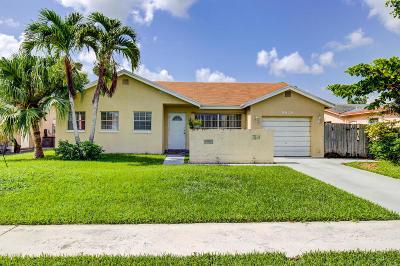 Boca Raton FL Single Family Home For Sale: $265,000