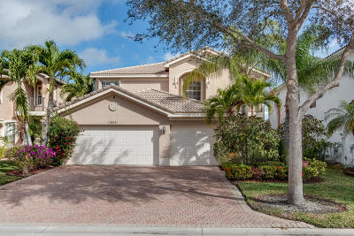 Boynton Beach Single Family Home For Sale: 8619 Woodgrove Harbor Lane