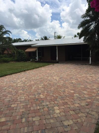 Jensen Beach Single Family Home For Sale: 1028 NE Hansen Terrace
