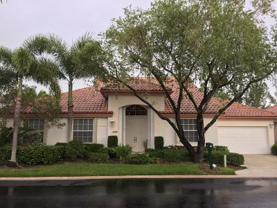 Palm Beach Gardens FL Single Family Home Contingent: $535,000