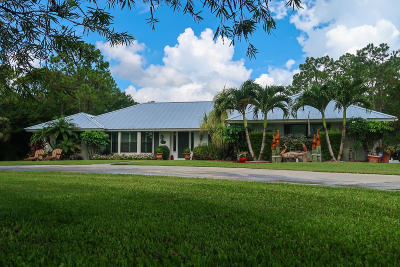 Palm Beach Gardens Single Family Home For Sale: 15349 80th Drive