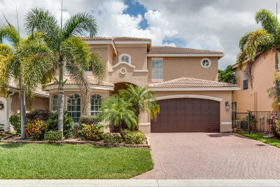 Boynton Beach Single Family Home For Sale: 11218 Millpond Greens Drive