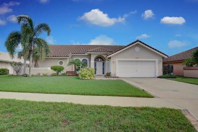 Lake Worth Single Family Home For Sale: 6640 Lake Loran Way