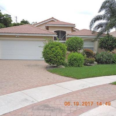 Delray Beach Single Family Home For Sale: 7475 Viale Cayerina