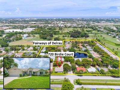 Delray Beach FL Single Family Home For Sale: $389,788