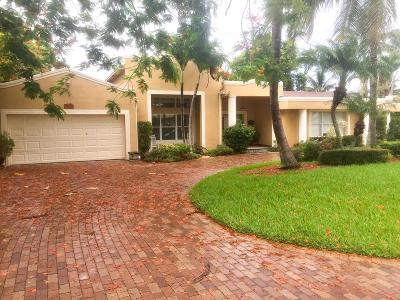 Delray Beach Single Family Home Contingent: 735 Lake Shore Drive