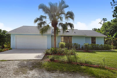 Jupiter Single Family Home Contingent: 17334 128th Trail