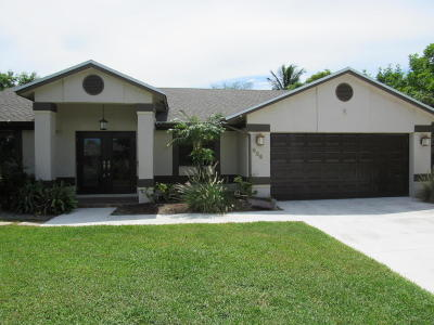 Delray Beach Single Family Home For Sale: 418 Enfield Terrace