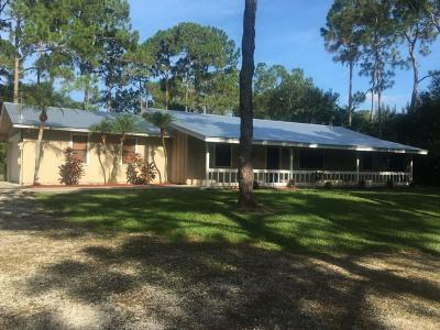 Jupiter Single Family Home For Sale: 18222 126th Terrace
