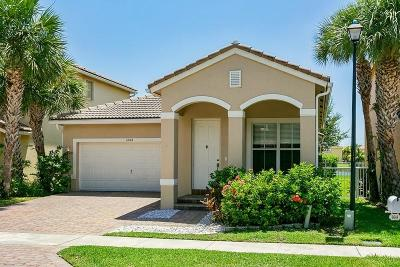 Lake Worth Single Family Home Contingent: 6648 Lurais Drive