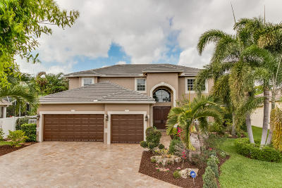 Boynton Beach Single Family Home For Sale: 16 Lake Eden Drive