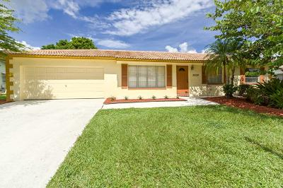 Boca Raton Single Family Home For Sale: 3509 NW 25th Way