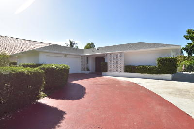 Lake Worth Single Family Home Contingent: 1826 17th Avenue